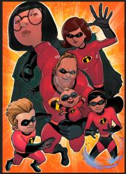 THE INCREDIBLES II by jdavidlee1979
