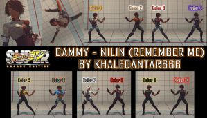 USF4 - CAMMY - NILIN (REMEMBER ME) by Khaledantar666