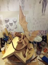Dragon (WiP) by LisaSchindler