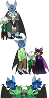 All these Godfrey Bats by Ally-Ooops
