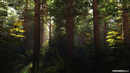 Forest II by Vishw
