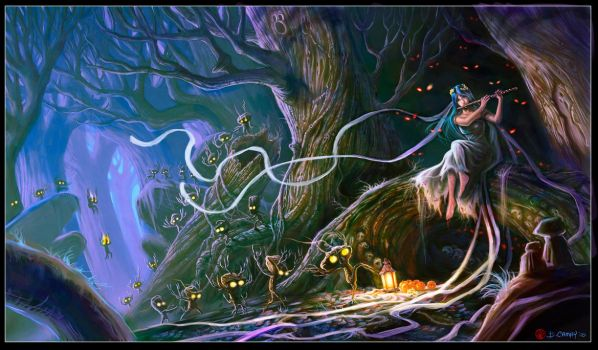 Forest Spirits by The-Hand