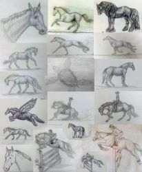 Sketches 2 by horsesrlife