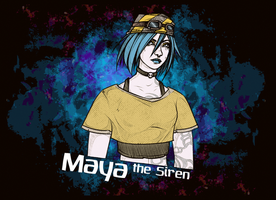 Borderlands 2: Maya by maryallen138