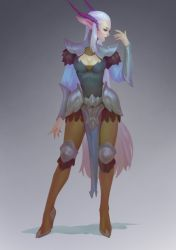 Elf_concept art by Lagunaya
