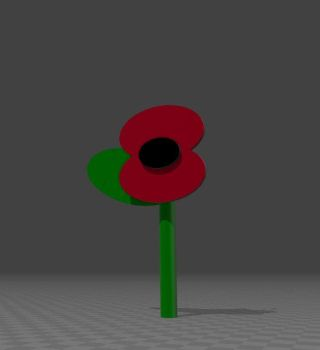 Remembrance Day Poppy 3 by JMK-Prime