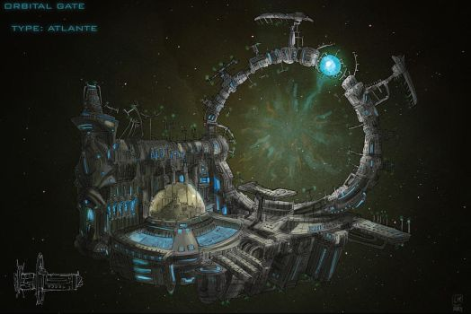 space gate by Larbesta