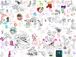 Drawpile Stream #1 by SavDraws