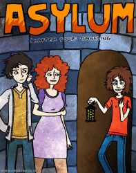 Asylum Chapter 4 Cover by jello-bomb
