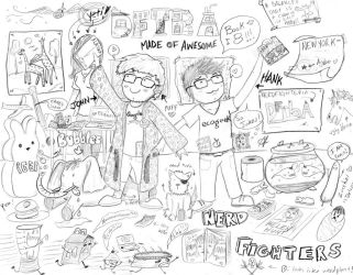 Nerdfighteria by cococheese
