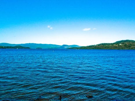 Loch lomand across the water by Johnt447