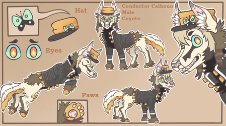 Ref sheet commission for june-ripsnout by lizzardblackrose