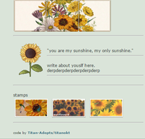 Sunflower Coding by Titan-Adopts