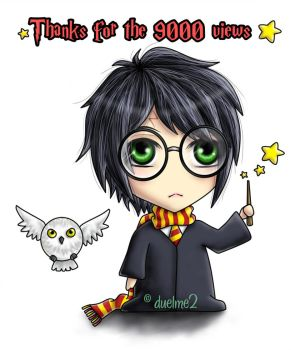Harry Potter 9000 by duelme2