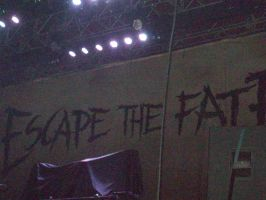 Escape The Fate Back drop by A7XFan666