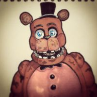 Withered Freddy by DominoBear