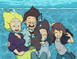The Unsinkable Maxwell Family by jbwarner86