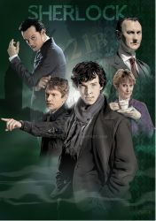 Sherlock A4 by jlfletch