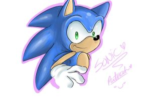 sonic doodle by Patrial