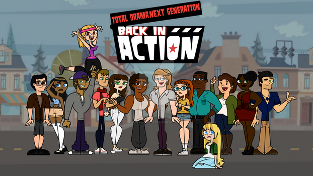 Total Drama Back in Action - Cast by lilycovecave1