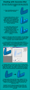 Gaussian Blur Coloring/Shading Tutorial by Aquablast-Fon