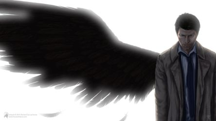 Castiel by luckyraeve