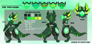 Protogen design #18 auction -CLOSED by NazaKiru
