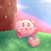 Cake by the Tree by amaitsuno