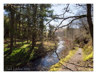 Exmoor River by jackhollow