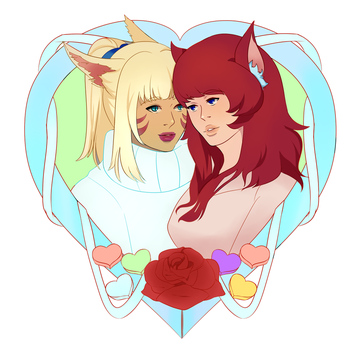 Valentines Commission by Fenrir-chic