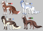 Adoptables are OPEN points or money by PirateLila