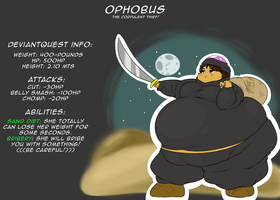 Ophobus the Corpulent thief! by PlumpKnight