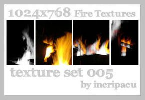 Fire Textures - Set 005 by Incripacu