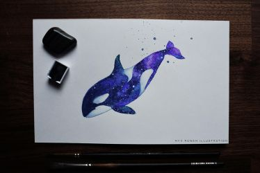 Astral Orca by umbralmoon