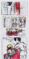 Sherlock: shower by dragonartist22