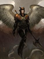 Angela, marshal of the underworld (renewed) by Eyari