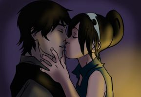 Kiss in the Dark by iesnoth