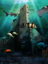 The Deep by snakeartworx