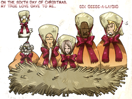 On the Sixth day of X-mas... by karniz