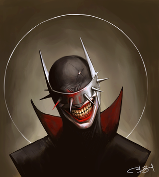 The Batman Who Laughs by ExiaLohengrin