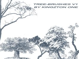Tree-Brushes V.1 by King-Billy