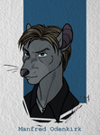 Character Mini Profile: Manfred Odenkirk by Amaryllex