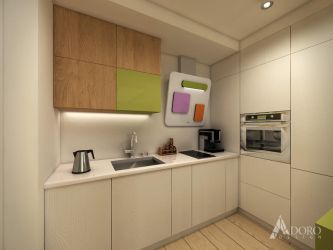 Fresh Kitchen Interior Design by adorodesign