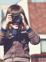 little photographer by Clergna