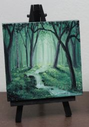 Mini Forest Stream by crazycolleeny