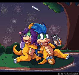 Fireworks by HG-The-Hamster