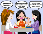 Susi, Mands and me...LUNCH by Avatar013