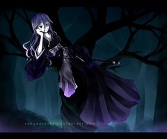 Shaman King OC - In the Lone Woods by Syea