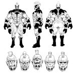 Taranis New Design Sheet BW by Reldin-pq