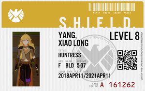 shield agent yang xiao long by connorm1